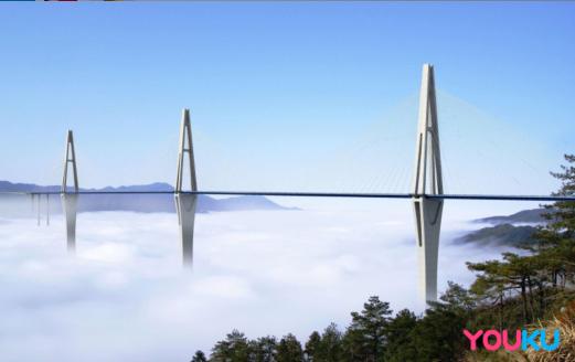 记录时代新地标 《最美中国 大有可观》走进第一高墩平塘特大桥